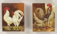 8H Canvas Rooster Wall Art
