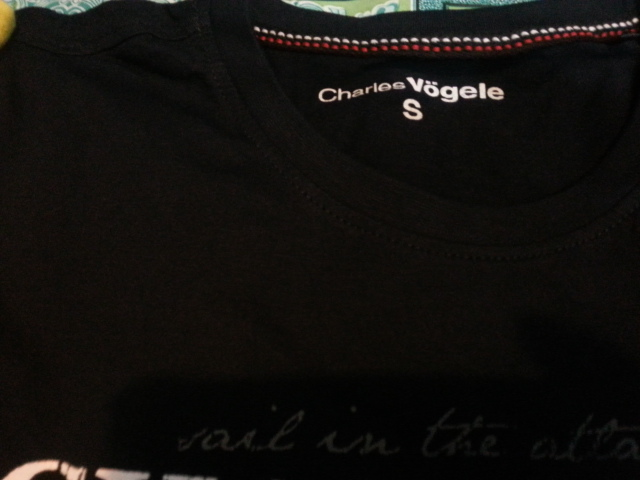 charles vogele t-shirt for men
